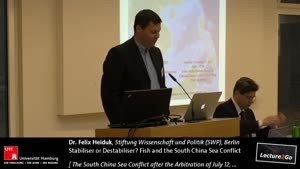 Miniaturansicht - Stabiliser or Destabiliser? Fish and the South China Sea Conflict