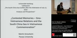 Miniaturansicht - Contested Memories - Sino-Vietnamese Relations and the South China Sea in Vietnamese Commemoration