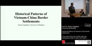 Miniaturansicht - Historical Patterns of Vietnam-China Border Settlements