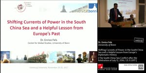 Miniaturansicht - Shifting Currents of Power in the South China Sea and a Helpful Lesson from Europe's Diplomatic History