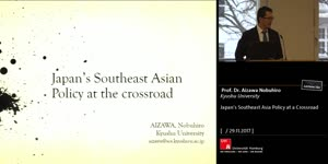 Vorschaubild - Japan's Southeast Asia Policy at a Crossroad
