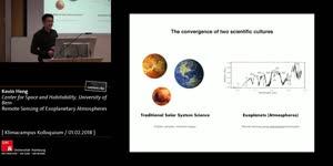 Vorschaubild - Remote Sensing of Exoplanetary Atmospheres