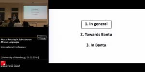 Miniaturansicht - Grammaticalized not-yet markers in Bantu languages