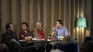 """Thumbnail - """"Desintegration"""" – Gespräch mit Micha Brumlik, Max Czollek und Anna Schapiro im Jüdischen Salon"""