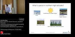 Miniaturansicht - Importance of temporal and spatial variability of environmental conditions for land-atmosphere interactions in permafrost landscapes