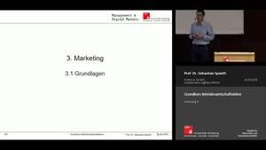 Miniaturansicht - Vorlesung 4 - Marketing (1)