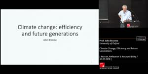 Thumbnail - Climate Change, Efficiency and Future Generations