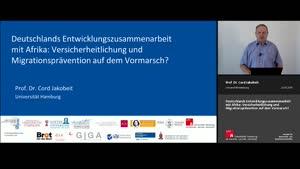 Thumbnail - Deutschlands Entwicklungszusammenarbeit mit Afrika: Versicherheitlichung und Migrationsprävention auf dem Vormarsch?