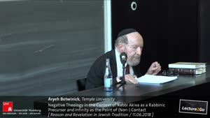 Miniaturansicht - Negative Theology in the Context of Rabbi Akiva as a Rabbinic Precursor and Infinity as the Point of (Non-) Contact