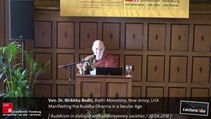 Miniaturansicht - Manifesting the Buddha Dharma in a Secular Age