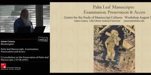 Miniaturansicht - Palm-leaf Manuscripts: Examination, Preservation and Access