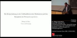 Miniaturansicht - Die Körperhaltung in der frühbuddhistischen Meditation und ihre Rezeption im Pātañjalayogaśāstra