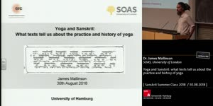 Miniaturansicht - Yoga and Sanskrit: what texts tell us about the practice and history of yoga