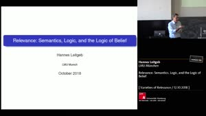Thumbnail - Relevance: Semantics, Logic, and the Logic of Belief