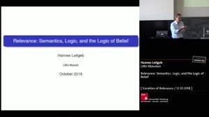 Miniaturansicht - Relevance: Semantics, Logic, and the Logic of Belief