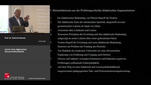 Thumbnail - Meisterlektionen aus der Problemgeschichte systematischen didaktischen Denkens und Argumentierens – Teil 2