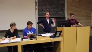Miniaturansicht - Sitzung des Studierendenparlaments am 18.10.2018