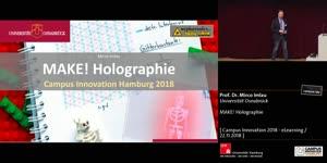 Vorschaubild - MAKE! Holographie