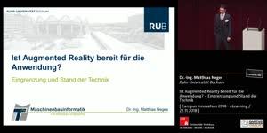Miniaturansicht - Ist Augmented Reality bereit für die Anwendung? – Eingrenzung und Stand der Technik