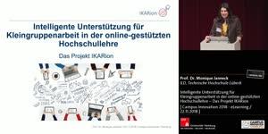 Miniaturansicht - Intelligente Unterstützung für Kleingruppenarbeit in der online-gestützten Hochschullehre – Das Projekt IKARion
