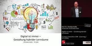 Miniaturansicht - Digital ist immer – Gestaltung hybrider Lernräume