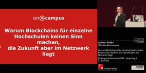 Miniaturansicht - Warum Blockchains für einzelne Hochschulen keinen Sinn machen, die Zukunft aber im Netzwerk liegt