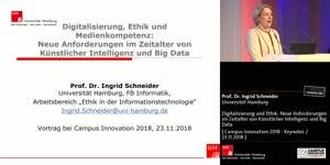 Miniaturansicht - Digitalisierung und Ethik: Neue Anforderungen im Zeitalter von Künstlicher Intelligenz und Big Data
