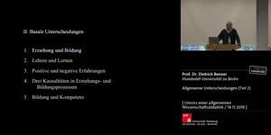 Thumbnail - Allgemeine Unterscheidungen (Sitzung 2)