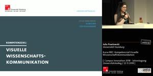 Miniaturansicht - Kurse RRZ: Kompetenzziel: Visuelle Wissenschaftskommunikation