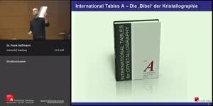 Miniaturansicht - 07 internationale Tabellen & Raumgruppe P21/c