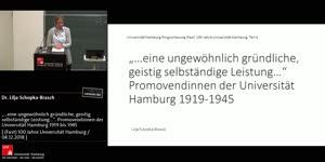 """Miniaturansicht - """"...eine ungewöhnlich gründliche, geistig selbständige Leistung..."""". Promovendinnen der Universität Hamburg 1919 bis 1945"""
