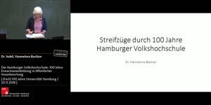Miniaturansicht - Die Hamburger Volkshochschule: 100 Jahre Erwachsenenbildung in öffentlicher Verantwortung – ein Streifzug durch die Geschichte