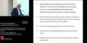 Thumbnail - Wissenschaftsdidaktische Ansätze aus der deutschen Pädagogik des 20. Jahrhunderts (Teil 2)