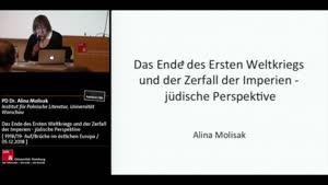 Miniaturansicht - Das Ende des Ersten Weltkriegs und der Zerfall der Imperien - jüdische Perspektive
