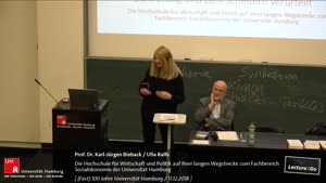 Miniaturansicht - Die Hochschule für Wirtschaft und Politik auf ihrer langen Wegstrecke zum Fachbereich Sozialökonomie der Universität Hamburg