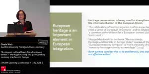 Miniaturansicht - A common cultural basis for a European demos? Heritage making and participatory memory practices in Europe