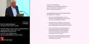 Thumbnail - Auf dem Weg zu einer wissenschaftsdidaktisch ausgewiesenen Unterrichts- und Bildungsforschung (Teil 1)