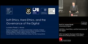 Thumbnail - Soft Ethics, Hard Ethics, and the Governance of the Digital (Taming the Machines)