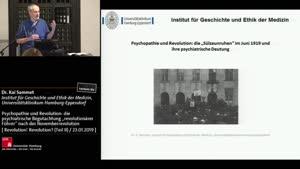 """Miniaturansicht - Psychopathie und Revolution: die psychiatrische Begutachtung """"revolutionärer Führer"""" nach der Novemberrevolution durch Hamburger Psychiater"""