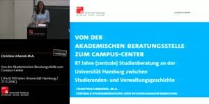 Miniaturansicht - Von der Akademischen Beratungsstelle zum Campus-Center – 87 Jahre (zentrale) Studienberatung an der Universität Hamburg zwischen Studierenden- und Verwaltungsgeschichte