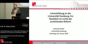 Miniaturansicht - Lehrerbildung an der Universität Hamburg: Ein Rückblick im Lichte der anstehenden Reform
