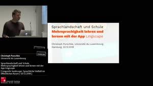Miniaturansicht - Sprachlandschaft und Schule. Mehrsprachigkeit lehren und lernen mit der App Lingscape
