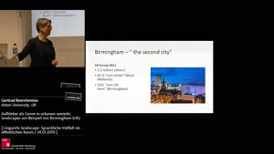 Thumbnail - Aufkleber als Genre in urbanen semiotic landscapes am Beispiel von Birmingham (UK)