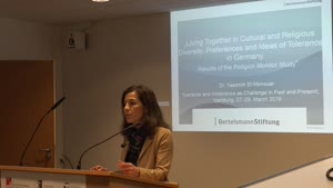 Miniaturansicht - Living Together in Cultural and Religious Diversity. Preferences and Ideas of Tolerance in Germany