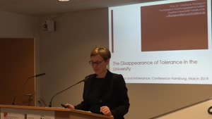Miniaturansicht - On the Disappearance of Tolerance in the University