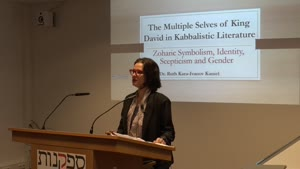Thumbnail - Scepticism and Gender, King David in the Image of the SHEKHINAH