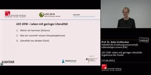 Thumbnail - LEO 2018 - Leben mit geringer Literalität: Ergebnisse der Studie