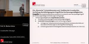 Miniaturansicht - Grundrechte I Sitzung 6