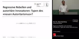 Thumbnail - Regressive Rebellen und autoritäre Innovatoren: Typen des neuen Autoritarismus