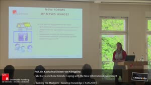 Miniaturansicht - Fake Facts and False Friends: Coping with the New Information Environment